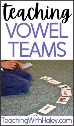Strategies for teaching vowel teams and diphthongs in our classroom by Teaching with Haley. In this post, I go through in detail different ways our students can practice words in authentic and engaging ways. I have included a free download of a word list you can use in your vowel teams unit. Great vowel worksheets for kindergarten, first grade, and second grade. Includes the vowel teams and diphtongs ai, ay, ee, ea, ey, ie, ou, ow, oo, oy, ue and ui. Learn more Vowel Worksheets, Kindergarten Worksheets, Reading Fluency, Teaching Reading, Reading Resources, Reading Activities, First Grade, Second Grade, Teaching Vowels