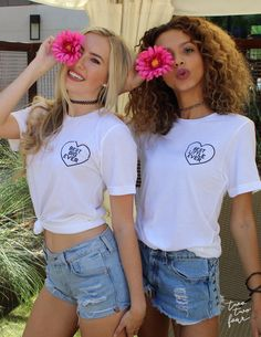 One for you and one for your other half. These super comfy white unisex tees with bold black ink will break everyone's hearts. You'll be the best looking big and little duo out there in these matching shirts! Models are wearing size Small. Big Little Week, Big Little Shirts, Sorority Big Little, Big Little Reveal, Disney Outfit, Kappa Delta, Theta, Alpha Phi, Tri Delta