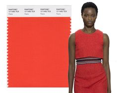 Spring/ Summer 2017 Pantone Colors: Flame