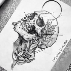 Skull drawing                                                                                                                                                                                 Más
