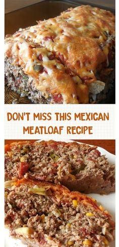 DON'T MISS THIS MEXICAN MEATLOAF RECIPE #mexicanrecipes