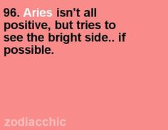 Zodiac Facts, ZodiacChic Post:Aries