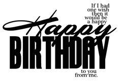 birthday png | Elegant WordArt 2: Happy Birthday