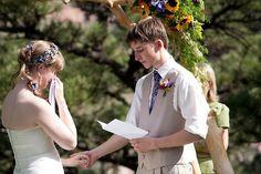 How to write heartfelt, sniffle-worthy wedding vows // Offbeat Bride Wedding Ceremony Ideas, Wedding Readings, Our Wedding, Dream Wedding, Wedding Stuff, Wedding Vows That Make You Cry, Wedding Shit, Wedding Humor, Wedding Dreams