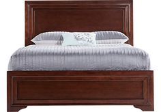 Shop for a Belcourt Cherry 3 Pc Queen Panel Bed at Rooms To Go. Find Queen Beds that will look great in your home and complement the rest of your furniture. Entry Furniture, Cheap Furniture, Discount Furniture, Bedroom Furniture, Kitchen Furniture, Wooden Bedroom, Furniture Buyers, Unique Furniture, Furniture Stores