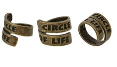 How Did We Go All Our Lives Without This Circle of Life Ring?