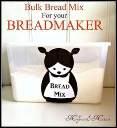 Bulk Bread Maker Mix {versatile mix - shelf life of around 6-8 months}