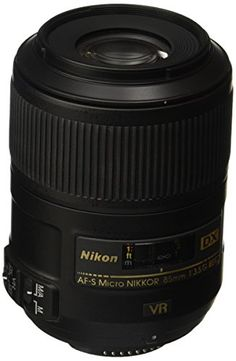 Compact DX-format Micro NIKKOR Close-up Lens An ideal choice for close-up nature portrait and general photography. Close focusing to 0.9 feet Extends versatility with focusing from infinity to life...