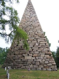 Monument to 18,000 buried Confederate soldiers - Hollywood Cemetary, Richmond, VA