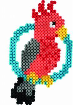 Parrot Hama beads - Hama 3137