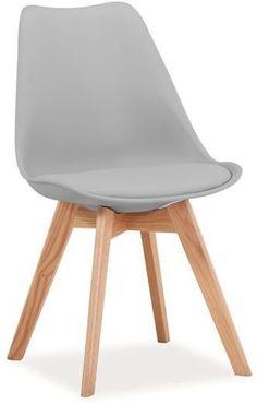 Kjøp - 659 NOK! Jeremiah stol - lys grå/eik. Jeremiah er en av våre mest populære serier, med tøff