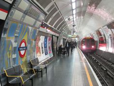 (C) Mike Quinn London Underground Train, Metro Station, England And Scotland, Gcse Art, Train Station, Trains, Arch, Marble, Old Things