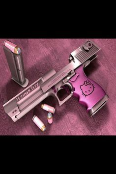 Too bad you have to carry concealed in Texas! This is too cute to hide.