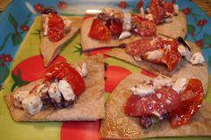 Cherry Tomato & Feta Crisps