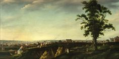 View of Baltimore from Chapel Hill by Francis Guy  Published 1802