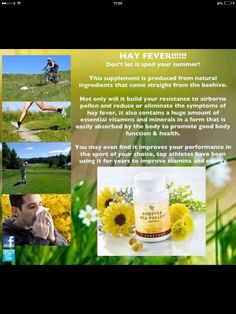A boost to energy and stamina, Forever Bee Pollen is all-natural and contains no preservatives, artificial colors, or flavors. svbforever@gmail.com