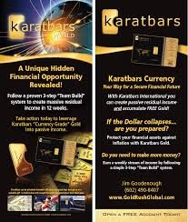 Karatbars International is expanding its product line constantly. In the future there will be collector gold cards with a limited edition offered.  http://www.karatbars.com/landing/?s=KimClifford