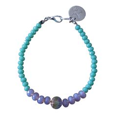 Armband Zilver - Special Facet Stone