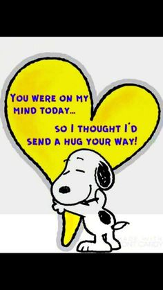 Snoopy Family Quotes and Cute Hug And Thinking You Peanuts Snoopy With Heart quotes marley quotes quotes morning quotes maxwell quotes about strength building quotes quotes Images Snoopy, Snoopy Pictures, Snoopy Hug, Snoopy Love, Hug Quotes, Love Quotes, Funny Quotes, Great Friends Quotes, Beautiful Friend Quotes