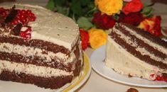 Tort cu cremă de vanilie și ciocolată, 3 blaturi pufoase, bine însiropate și o cremă plină de savoare. Mâine sărbătorim Sfinții Mihail și Gravril, așa că Tiramisu, Cake, Ethnic Recipes, Desserts, Rome, Tailgate Desserts, Deserts, Kuchen, Postres