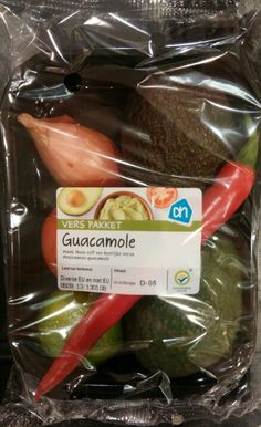 Guacamole mix pack AH supermarket