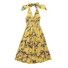 From Debenhams. Pretty vintage style pattern, halterneck. Number one on the wishlist for summer