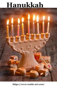 "About Hanukkah Hanukah is the Jewish eight-day, wintertime ""festival of light. About Hanukkah Hanukah is the Jewish eight-day, wintertime ""festival of lights,"" celebrated wi What Is Hanukkah, Diy Hanukkah, Hanukkah Candles, Hanukkah Food, Feliz Hanukkah, Hanukkah Decorations, Hanukkah Menorah, Christmas Hanukkah, Diy Coloring Books"