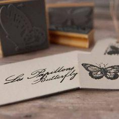 """Set de sellos """"Butterfly"""". A la venta en: www.mrwonderfulshop.es"""