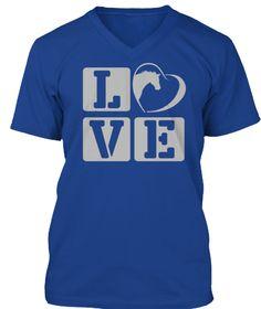 Love Horse True Royal T-Shirt Front