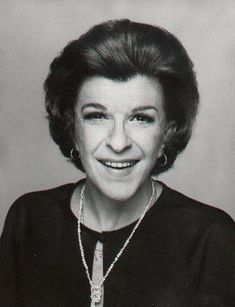 In MEMORY of NANCY WALKER on her BIRTHDAY - Born Anna Myrtle Swoyer, American actress and comedian of stage, screen, and television. She was also a film and television director (such as of The Mary Tyler Moore Show, on which she also made several guest appearances). May 10, 1922 - Mar 25, 1992 (lung cancer)