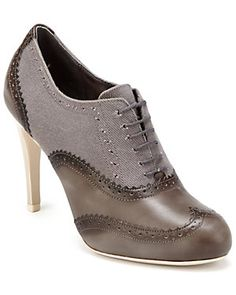Cole Haan 'Lucinda Air Oxford' Leather & Twill Pump