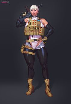 Original Futanari Hentai pinups and adult Comics. By Hentai artist Dmitrys Character Concept, Concept Art, Comics Toons, Shadowrun, Designs To Draw, Art Girl, How To Draw Hands, Pin Up, Wonder Woman