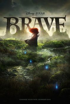 Brave (1/100)  A movie about love, family, and bravery. Pixar and Disney took a different take with their usual princesses. Because of the lead characters, Merida and the Queen, the story became an adventure of a lifetime that you shouldn't miss.   8/10. I know Pixar can do better.