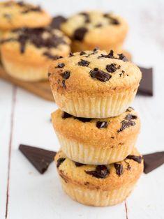 Keto chocolate chip muffins.