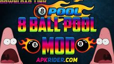 8 Ball Pool Mod apk Free Download No banning issue with lots of coins and Money http://www.apkrider.com/8-ball-pool-mod-apk-download-android/
