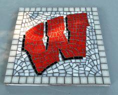 Custom Made Mosaic Wisconsin Garden Stepping Stone