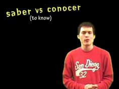 Hola, this video lesson is part 3 in the series of videos on 'saber & conocer'. You might check out the first two videos in this series before watching this ...