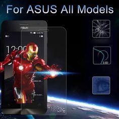 9H Tempered Glass Screen Protector Film For ASUS Zenfone 3 Max ZC520TL Selfie 5 2 Laser ZE500KL ZE550KL Go ZB500KL ZE520KL Case