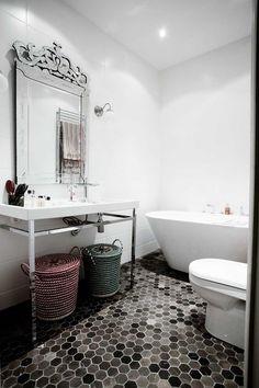 love tile  #bathroom ideas