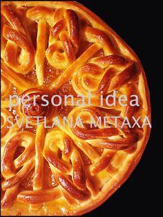 КУЛИНАРНЫЕ ОТКРОВЕНИЯ ОТ СВЕТЛАНЫ МЕТАКСА: Пирог с абрикосовым джемом. Фигурная выпечка