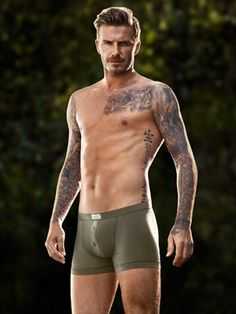 Man Candy Alert: David Beckham Strips Down For H #TreatYoSelf
