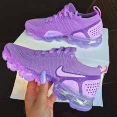 Discovered by Find images and videos about pink, shoes and nike on We Heart It - the app to get lost in what you love. Cute Nike Shoes, Cute Nikes, Cute Sneakers, Nike Air Shoes, Shoes Sneakers, Purple Nike Shoes, Purple Tennis Shoes, Purple Nikes, Purple Sneakers