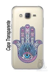 Capa Capinha Samsung J7 Mão de Hamsá #1 - SmartCases - Acessórios para celulares e tablets :)