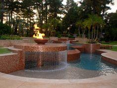 Natural Pool & Free Form Pool Designs Gallery by Marquise Pools My Pool, Beach Pool, Luxury Pools, Beautiful Pools, Dream Pools, Cool Pools, Awesome Pools, Outdoor Pool, Backyard Pools