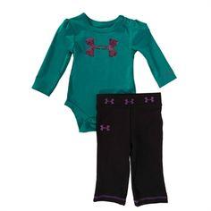 Under Armour® Infant Girl AllSeasonGear® Celestial Logo Set