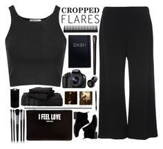 """""""Cropped Flares"""" by wxlfie ❤ liked on Polyvore featuring Lord & Taylor, Bourjois, Glamorous, GHD, Boston Warehouse, Eos, Martex, Illamasqua, Givenchy and Lucky Brand"""