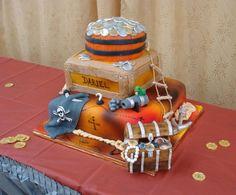 A pirate cake