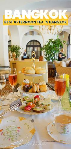 As a Brit living in Bangkok, I can't help but fancy an afternoon tea once in a while. Which is why we are sharing the best afternoon tea in Bangkok options, from budget to luxury. #Bangkok #AfternoonTea #BangkokThingstodo #RomanticthingstodoinBangkok #BangkokFood #Thailand #ThailandTravel Thailand Honeymoon, Thailand Travel Guide, Bangkok Travel, Best Afternoon Tea, Asia City, Tokyo Japan Travel, Koh Tao, China Travel, Foodie Travel