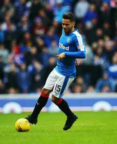Rangers 1 St Mirren 0 in Feb 2016 at Ibrox. Super sub Harry Forrester scored