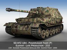 elefant tank destroyer - tiger p - 332 model obj mtl fbx lwo lw lws 1 Tank Armor, Ferdinand Porsche, Tiger Tank, Military Armor, Tank Destroyer, Model Tanks, Military Modelling, Ww2 Tanks, Military Helicopter